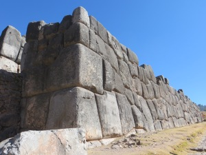 Wall at Sacsayhuaman, Cusco
