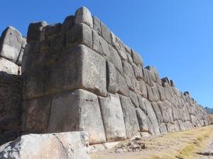 Wall at Sacsayhuaman, Cusco