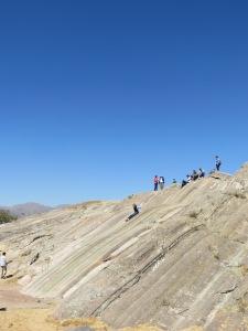 Slick rock at Sacsayhuaman, Cusco
