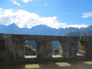 Temple of the Three Windows at Machu Picchu