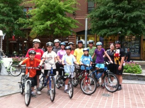 Rockville Bicycle Advisory Committee Progressive Dinner Ride