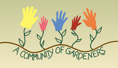 community of gardeners logo