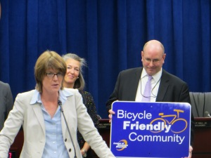 League of American Bicyclists Bike Friendly Community presentation