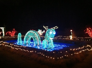 Nessie light display