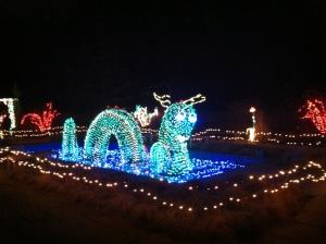 Nessie light display