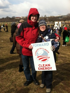 Chris and I at the Forward on Climate rally
