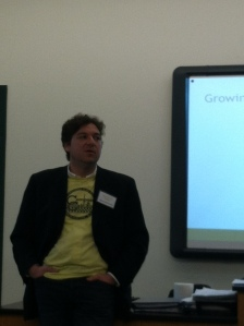 Jeremy Brosowsky of Agricity at Rooting DC