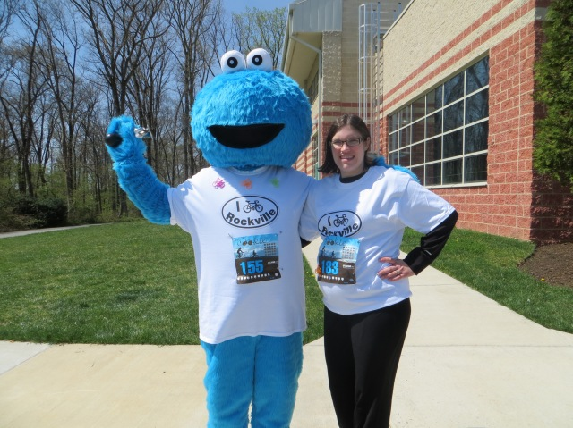 Cookie Monster at the Tour de Cookie